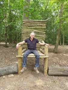 The Throne at Birchmere Scout Campsite